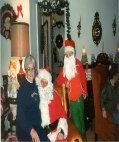 Evelyn Philpot & Santa